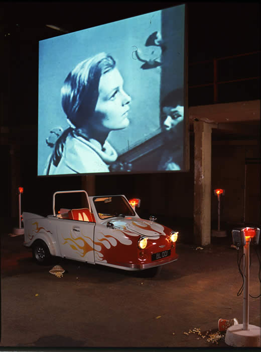 Georgina Starr, Bunny Lake Drive-In (Installation)